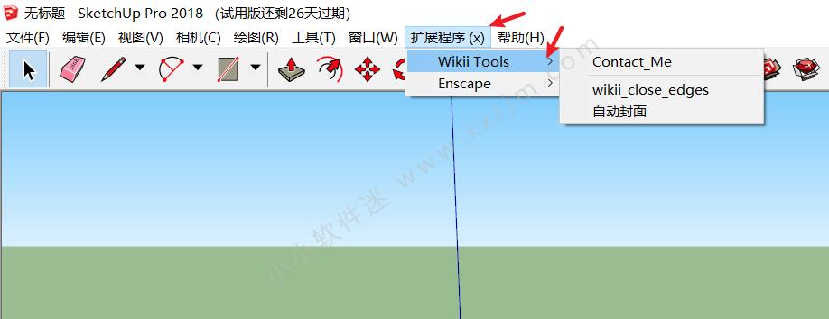sketchup插件-Wikii Tools自动封面插件下载+安装教程